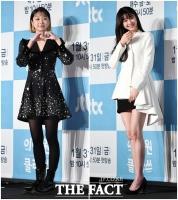 [TF사진관] 김다미-권나라, '블랙&화이트 패션의 정석'