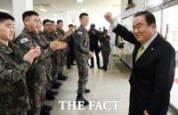 [TF사진관] 제8전투비행단 격려 방문한 문희상 국회의장