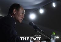 [TF포토] 향후 계획 발표하는 김학범 감독