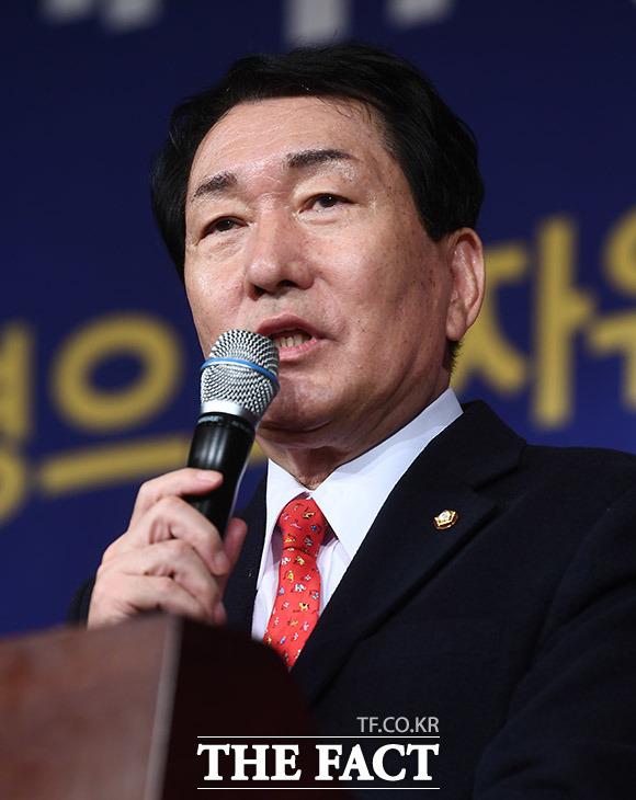안상수 자유한국당 의원의 축사