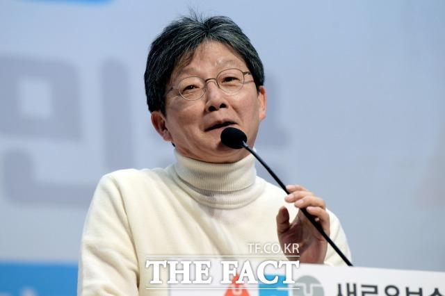 유 의원을 비롯한 새로운보수당 의원들 사이에선 혁통위의 역할을 놓고 이견을 보이고 있는 것으로 확인됐다. 지난 1월 5일 열린 새로운보수당 중앙당 창당대회에서 유 의원이 발언하고 있는 모습. /이선화 기자