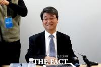 [TF포토] 미소 짓는 김지형 삼성 준법감시위 위원장