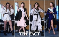 [TF사진관] 입장부터 시선 집중되는 '맨땅에 한국말'의 미녀군단