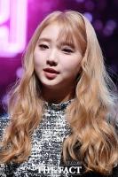 [TF포토] 이달의 소녀 여진, '깜찍한 금발'