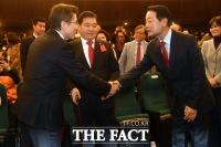 [TF현장] 미래한국당, 한국당 핵심 인사들과 함께 '개문발차'