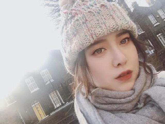 구혜선이 5일 자신의 인스타그램에 런던이예요. 아침 수업이라는 글과 함께 사진을 공개했다. /구혜선 SNS