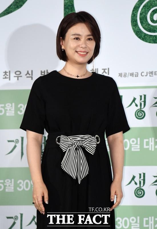 배우 장혜진은 영화 기생충에서 충숙을 연기해 전성기를 맞았다. /이새롬 기자