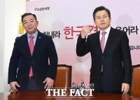 [TF포토] 이찬열 전 바른미래당 의원, '새출발!'