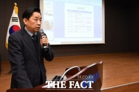 [TF포토] 황성규 국토부 철도국장, '철도산업의 도약을 위해'