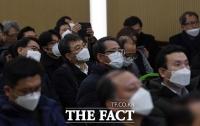 [TF포토] '실내 행사에서도 마스크는 꼭!'