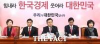 [TF사진관] '공소장 비공개, 법무부 비판' 이어간 자유한국당