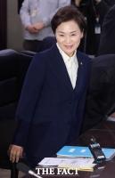 [TF포토] 항공사 CEO 간담회 참석한 김현미 장관