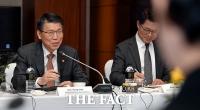 [TF포토] 외국계 금융회사 CEO 만난 은성수 위원장