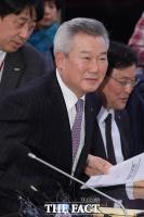[TF포토] 항공사 CEO 간담회 참석한 손창완 한국공항공사 사장