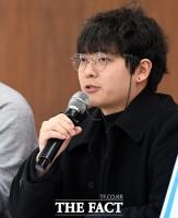 [TF포토] 연대발언 하는 송하민 청소년유니온 위원장