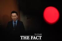 [TF포토] 취재진 질문 받는 정봉주