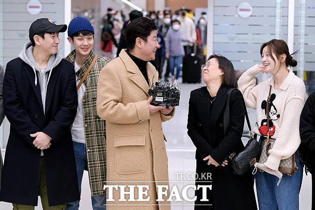 돌발 상황에 웃음 터진 곽신애 대표.