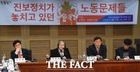 [TF사진관] '노동 문제'위해 국회 찾은 이정희