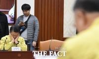 [TF사진관] 은성수 금융위원장, 골치 아픈 신종 코로나바이러스