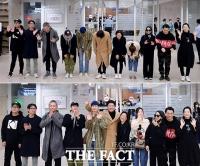 [TF사진관] '오스카 4관왕!'…귀국인사 전하는 '기생충' 주역들