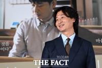 [TF포토] 박혁권, '기도하는 남자'의 미소