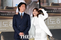 [TF사진관] 박혁권-류현경, '영화 속에선 부부, 현실에선 어색'