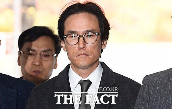 조현범 한국타이어앤테크놀로지 대표는 하청업체로부터 뒷돈을 받고 관계사 자금을 횡령한 혐의로 지난해 11월 구속됐다. /이동률 기자