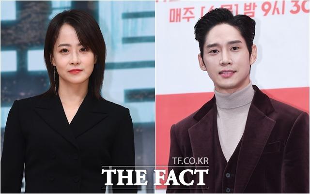 배우 류현경(왼쪽)과 박성훈은 3년째 공개 열애 중이다. /더팩트DB