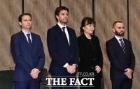 [TF포토] '어두운 표정의 KLM 항공 임원들'