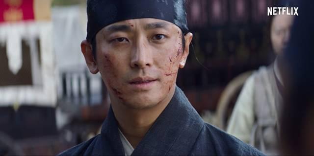 주지훈은 넷플릭스 드라마 킹덤2에서 왕세아 이창 역을 맡았다. /넷플릭스 제공