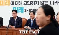 [TF포토] 바른미래당 의총 참석한 이동섭 원내대표 권한대행