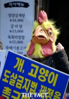 [TF사진관] '도살금지법 등 동물복지 정책 촉구하라!'