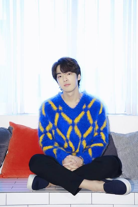 배우 김정현은 할리우드 진출을 목표로 삼고 영어 공부를 하고 있다. /오앤엔터테인먼트 제공
