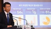 [TF포토] '2020업무계획' 밝히는 은성수 금융위원장