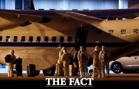 [TF사진관] 일본 크루즈선 탑승한 국민 등 7명 김포 도착