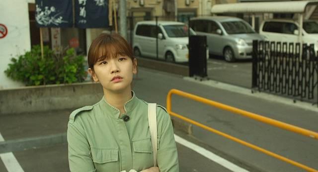 박소담은 영화 후쿠오카에서 권해효, 윤제문과 호흡을 맞춘다. 3월 12일 개봉 예정. /인디스토리 제공