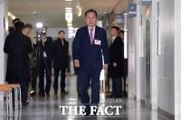 [TF포토] 총선 후보자 면접 참석하는 홍준표
