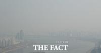 [TF사진관] 한파 물러가더니…'다시 찾아온 미세먼지'