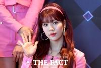 [TF포토] 권은비, '손바닥보다 작은 얼굴'