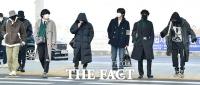 [TF포토] 방탄소년단, '뉴욕 접수하러 갑니다~'