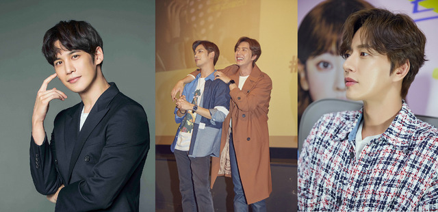 배우 박해진(오른쪽)과 박기웅이 영화 치즈인더트랩에 이어 MBC 꼰대인턴에서 다시 만난다. /마운틴무브먼트, 젤리피쉬엔터테인먼트 제공