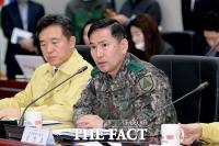 [TF포토] 발언하는 김선호 수도방위사령관