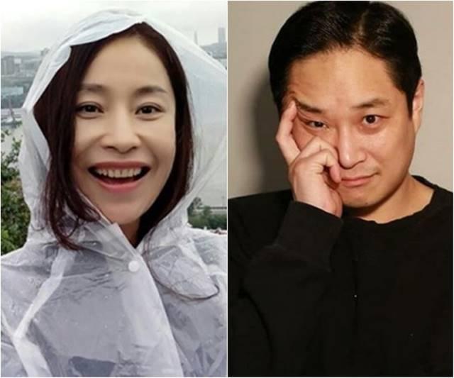 코미디언 여윤정(왼쪽)과 홍가람은 오는 5월 2일 결혼한다. 두 사람은 지난해 10월 한 축제에서 만나 가까워졌고, 이후 11월 초부터 본격적인 연예를 시작했다. /여윤정 인스타그램, 극단 배우다 제공