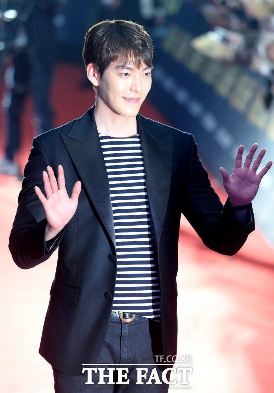배우 김우빈이 사랑의 열매 측에 1억 원을 기부하며 따뜻한 마음을 전했다 /임세준 기자