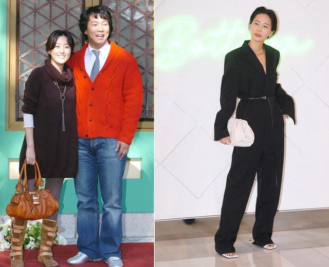 방송인 김지혜, 박준형 부부와 김나영(왼쪽부터)은 각각 2천만 원과 1천만 원을 기부했다. /더팩트 DB