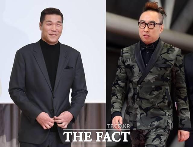 방송인 서장훈(왼쪽)과 박명수는 각각 성금 1억 원과 마스크 2만 장을 기부했다. 두 사람은 취약계층과 소외계층의 감염 예방을 위해 힘 써달라고 말했다. /더팩트DB