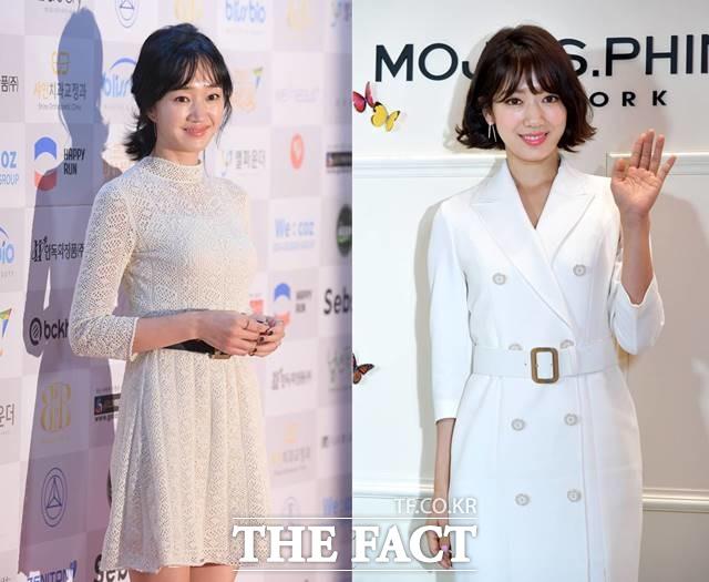 배우 수애(왼쪽)과 박신혜는 각각 전국재해구호협회와 국제구호개발단체 희망친구 기아대책을 통해 5000만 원씩 기부했다. /더팩트DB