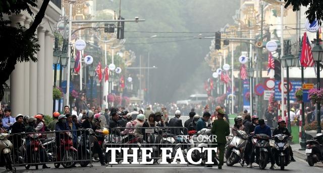 코로나19 여파로 베트남 정부가 한국발 여객기에 공항 착륙을 금지했다.사진은 베트남 하노이./더팩트DB