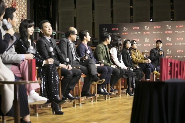 킹덤2에서는 시즌1에서 뿌려진 떡밥이 회수될 예정이다. 배우들과 제작진은 시즌2를 향한 자신감을 보였다. /넷플릭스 제공