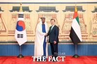 文대통령, UAE·이집트 정상과 통화…